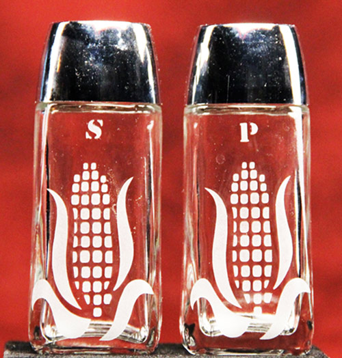 Corn Salt n Pepper Shakers